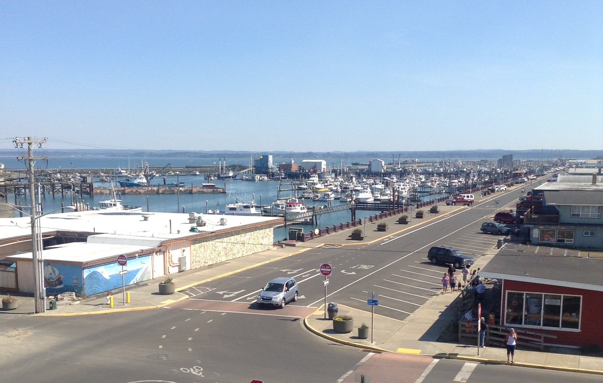 Westport Marina-from viewing tower