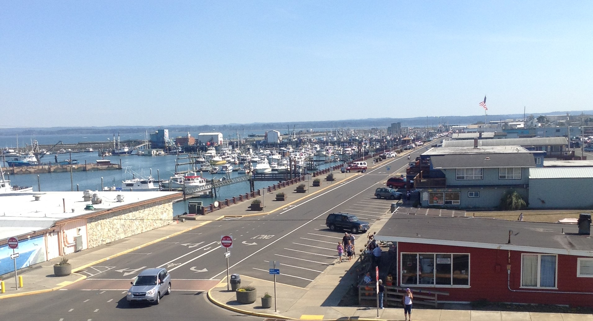 Westport, Washington Marina District
