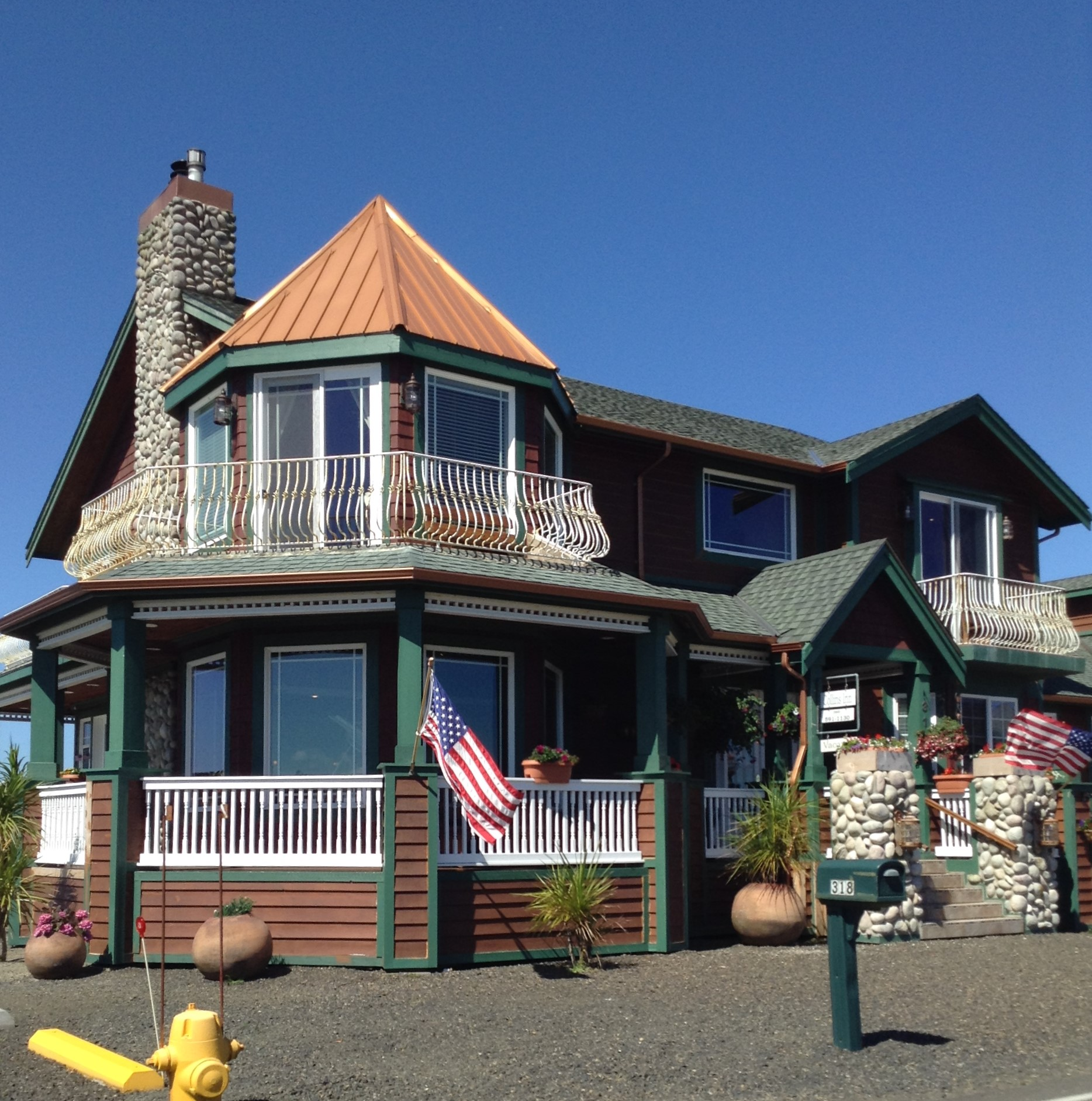 The Collins Inn and Seaside Cottages, Oceans Shores, Washington USA #graysharborbeaches