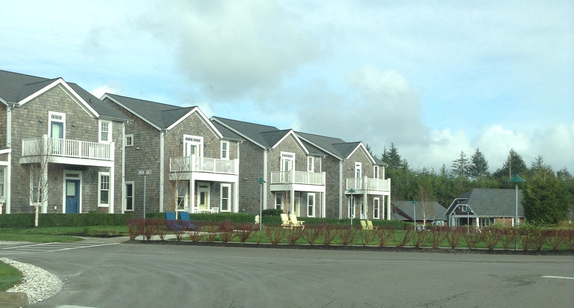 Town houses at Seabrook