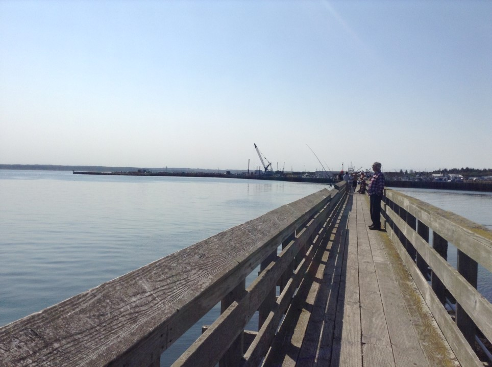 Westport, WA Fisherman's Wharf.